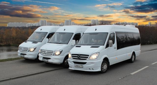 Пассажирские перевозки на новых комфортабельных микроавтобусах: кондиционер, мягкие откидные